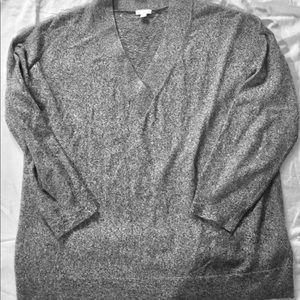 GAP super soft pullover, XL grey/heather